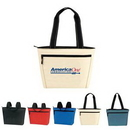 Cooler Tote, Two Tone 12 Pack Insulated Lunch Tote, Custom Logo Cooler, Personalised Cooler, 16.5