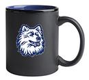 Custom 11 Oz. Hilo C-Handle Mug (Matte Black/Ocean Blue)