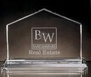 Custom Homestead Award - Starfire Glass (5 3/8