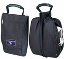 Custom Ripstop Shoe Bag with Carry Handle & Front Zipper Pocket