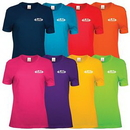 Custom Screen Printed Ladies' Color T-Shirts