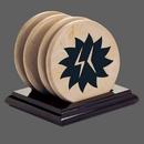 Custom WGG! Uxbridge Coasters - Set of 4 (Regular Base), 4.5
