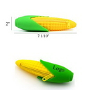 Custom Corn Shape Silicone Pencil Bag, 2