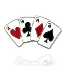 Custom Playing Cards - Aces Pin, 1