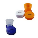 Custom Round Collapsible Plastic Cup, 2.7