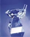 Custom Crystal Golf Award (4 3/4