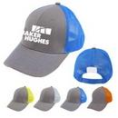Custom 6-Panel Contrast Stitch Mesh Back Baseball Cap