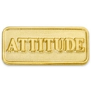 Custom Attitude Lapel Pin