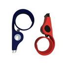 Custom Slap Bracelet With Whistle, 10 1/2