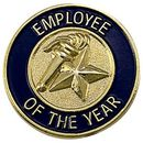 Blank Corporate Award Lapel Pins (Employee of the Year), 3/4