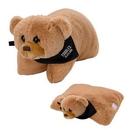 Custom Bernard Bear Plush Pillow, 6 1/2
