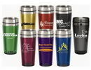Custom 16 Oz. Acrylic Shell Stainless Steel Inside Travel Mug