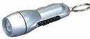 Custom Mini Torch Flashlight w/ Key Chain, 3 1/2