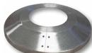 Custom Clear Aluminum Flagpole Flash Collar - 3 1/2