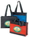 Custom Poly Tote Bag (16