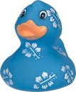 Custom Rubber Pretty In Blue Duck, 2 7/8