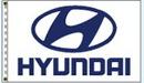 Custom Stock Dealer Logo Flags - Hyundai