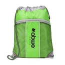 Custom The Leader Drawstring Bag - Green, 14.0