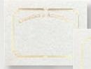 Foil Embossed Blank Certificate Border (Achievement), 8 1/2