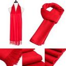 Custom Red Fleece Scarf, 65