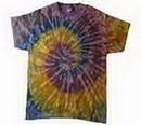 Custom Galaxy Tye Dye T-shirt