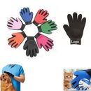 Custom Silicone Pet Hair Removal Glove, 9.06