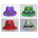 Custom LED Flash Fedora Hat Jazz Hat Concert Cap For Party, 22