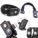 Custom Multifunction Paracord Survival Bracelets With Emergency LED Light, 9 8/10