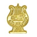 Custom Chenille Pin Band Lyre