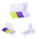 Custom Medicine Pocket Pill Case with Cutter, 3.74
