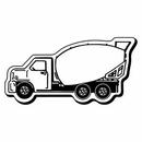 Custom Truck Notekeeper Magnet - 20 Mil Process Color (1 7/8