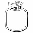 Custom Tank Notekeeper Magnet - 20 Mil Process Color (1 7/8