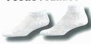 Custom Half Cushioned Sole Heel & Toe Footie Socks w/ Mesh Upper (7-11 Medium)