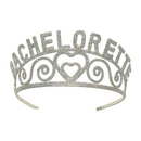Custom Glittered Metal Bachelorette Tiara