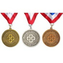 Custom Zinc Alloy Award Medal (2.25