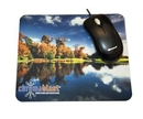 Custom Full Color Hard Surface Mouse Pad