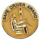 Blank Safe Driver Award Lapel Pin, 1