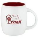 Custom 15 Oz. Puget Mug (Matte white out red in)