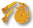 Blank Gold Cord & Tassels For 3'X5' Flag