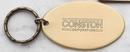 Custom Brass Medium Oval Key Tag