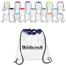 Custom Clear Drawstring Bag (12