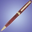 Custom Lacquered Marbleized Twist Action Pen (Screened)