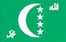 Custom Nylon Comoros Indoor/ Outdoor Flag (3'x5')