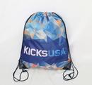 Custom Full Color Polyester Drawstring Bag, 21
