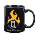 Custom 11 Oz. Standard Black Ceramic Creative Mug, 4.75