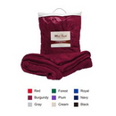 Custom 300g/sqm 100 percent Polyester silky smooth faux mink luxury blanket, 50
