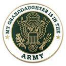 Custom Military - U.S. Army Granddaughter Pin, 1