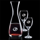 25 Oz. Bishop Carafe and 2 Wine Glass