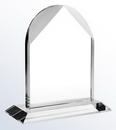 Custom Crystal Distinguished Arch Award, Small (6