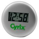 Custom Metal Desk Clock (3